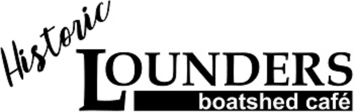 Historic Lounders Boatshed Cafe logo 250