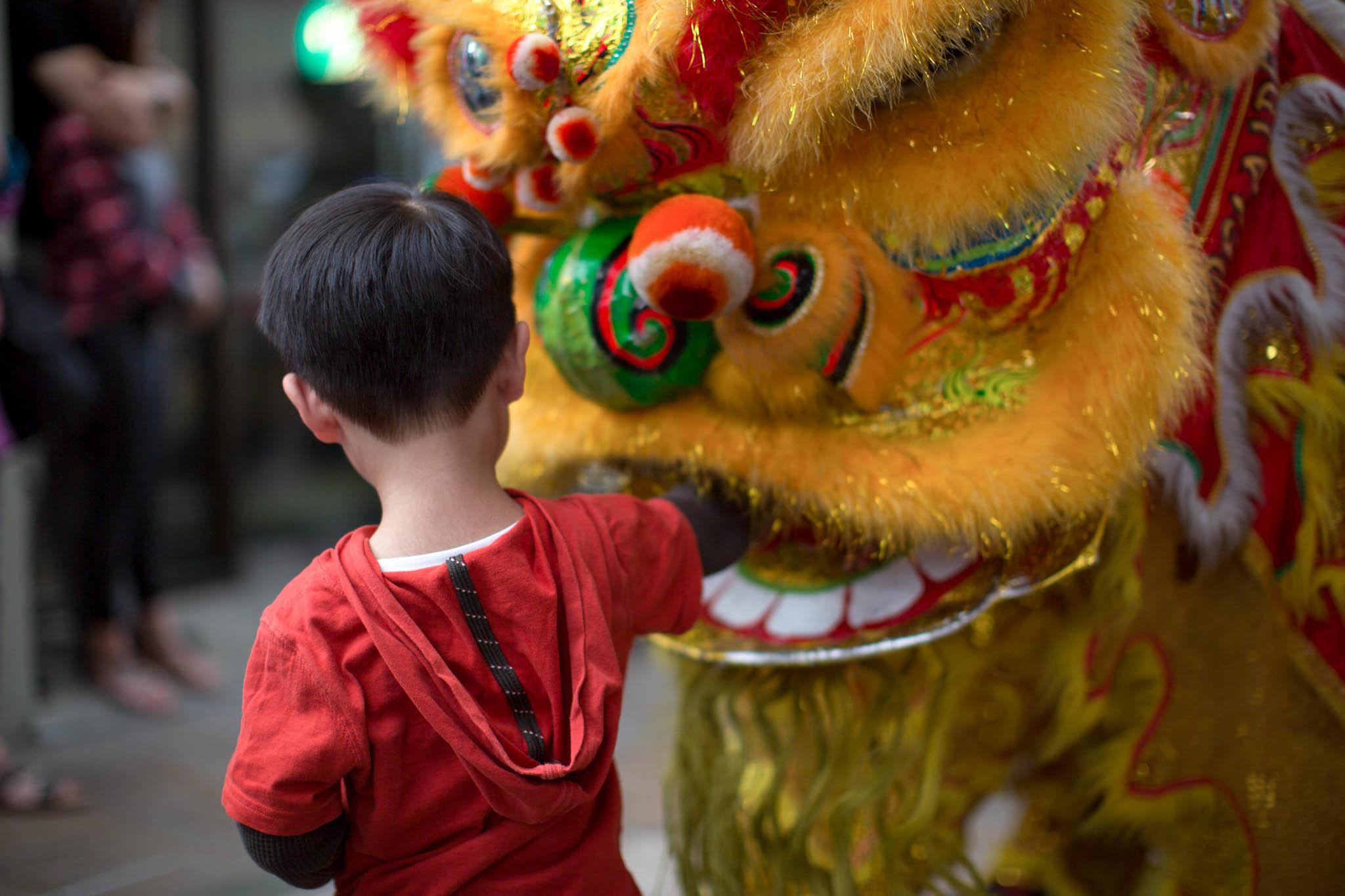 Lunar New Year Lion Dance