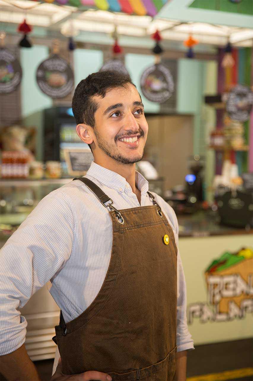 Mitch Aldawsari Real Falafel AL online
