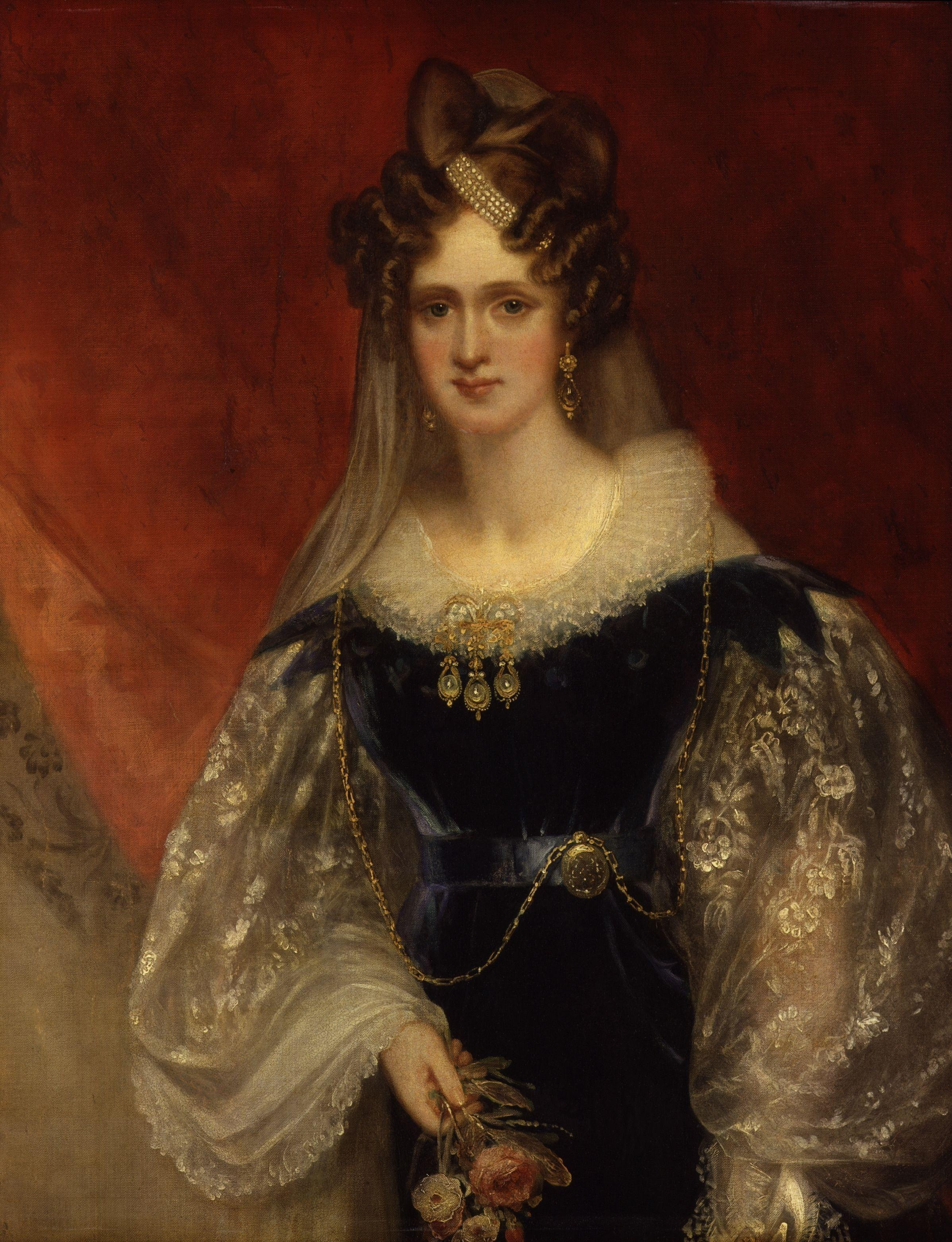 Adelaide amelia louisa theresa caroline of saxe coburg meiningen sir william beechey