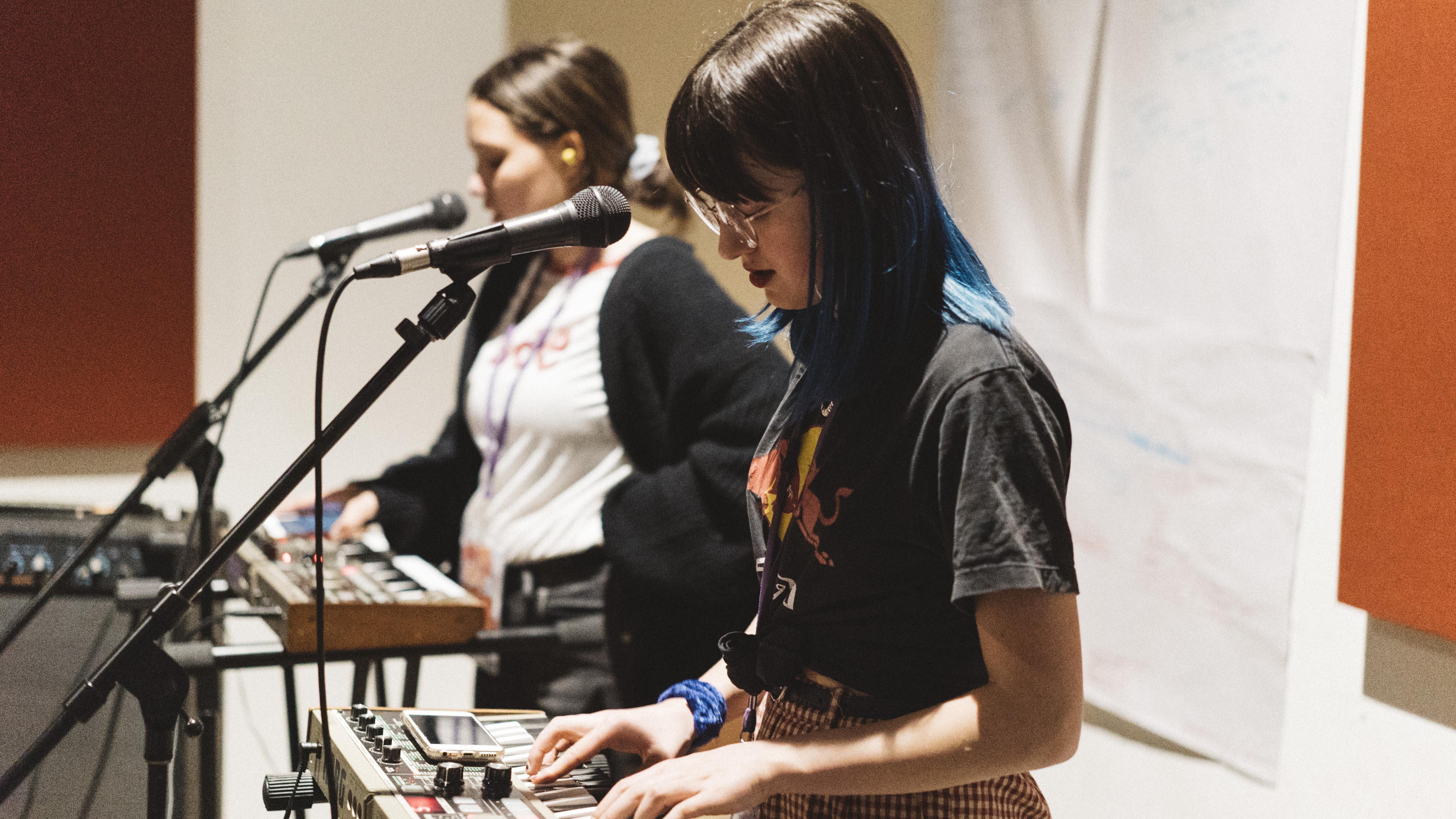 Bands form at girls rock adelaide