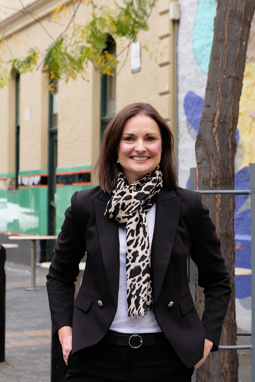 Dr michelle perugini portrait