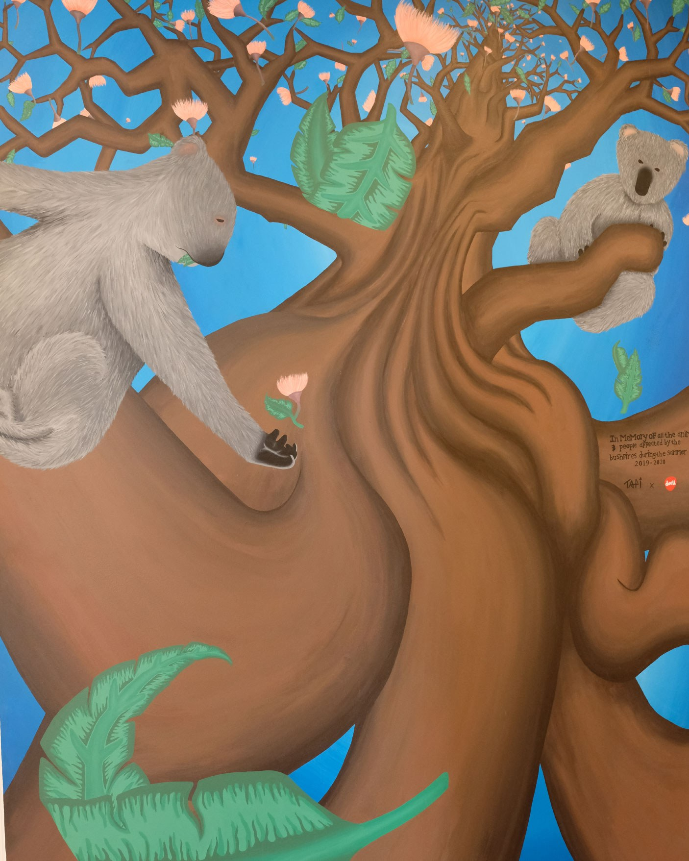Mural 1 tapi artist