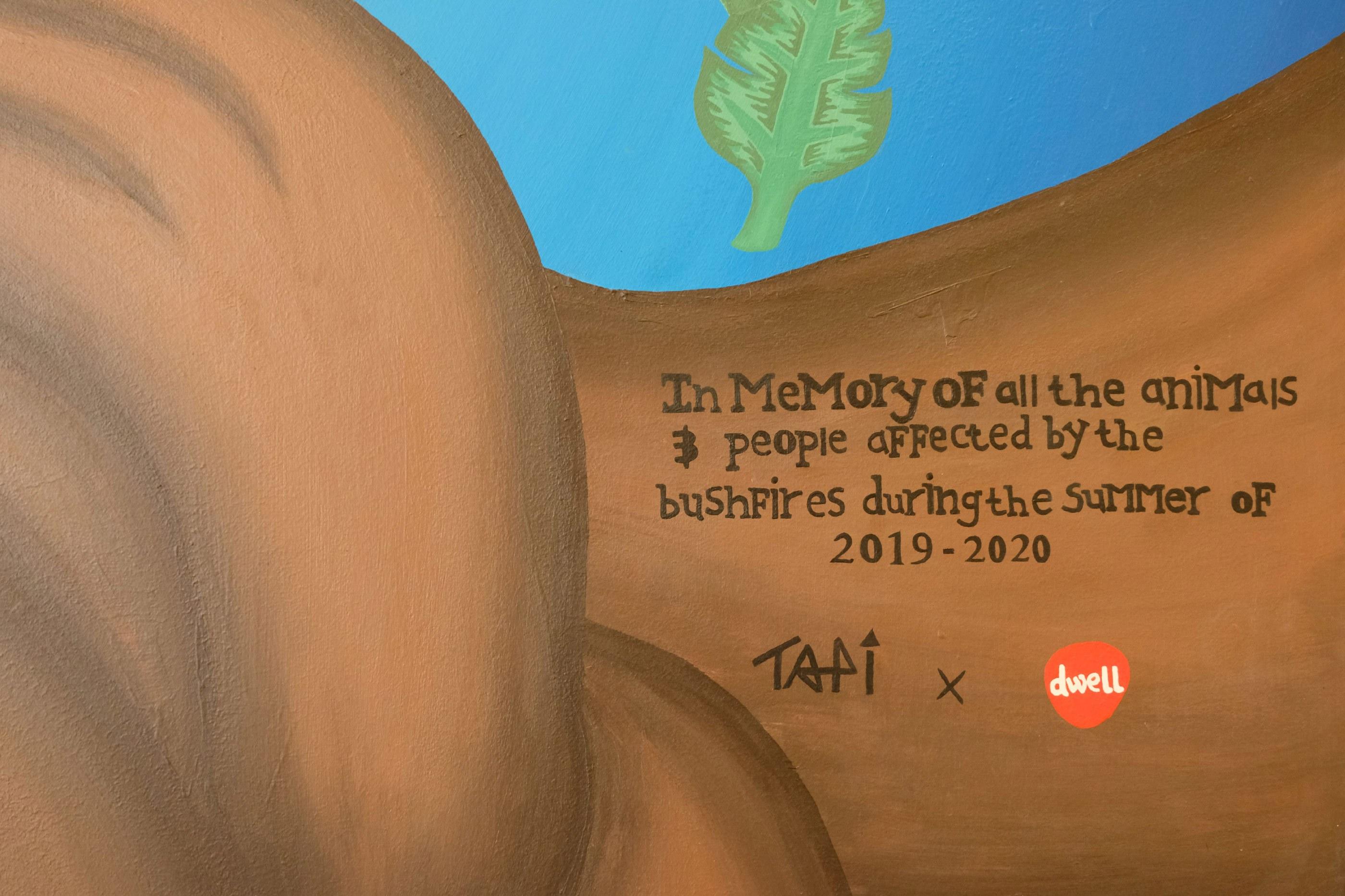 Tapi mural detail