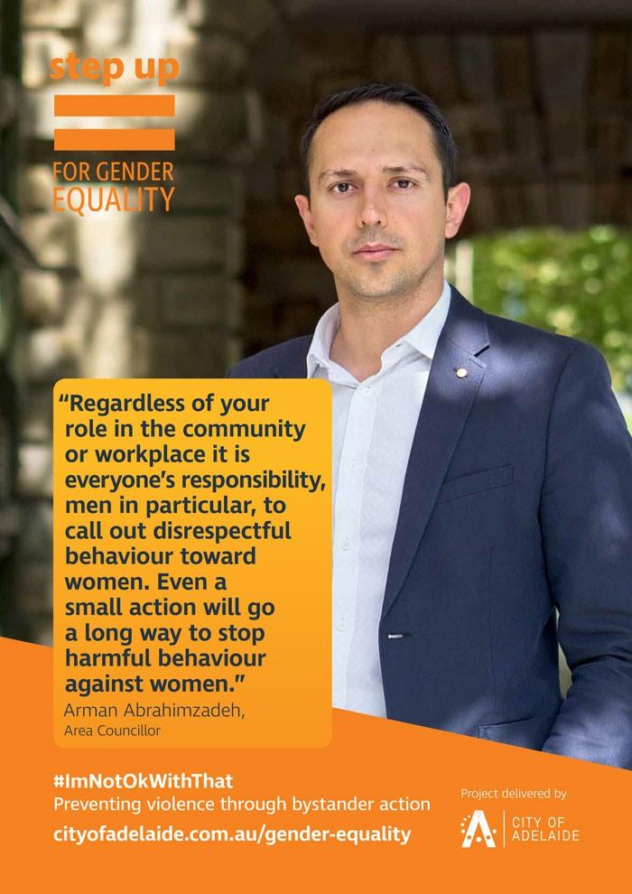 990x700 Step Up for Gender Equality Arman Abrahimzadeh
