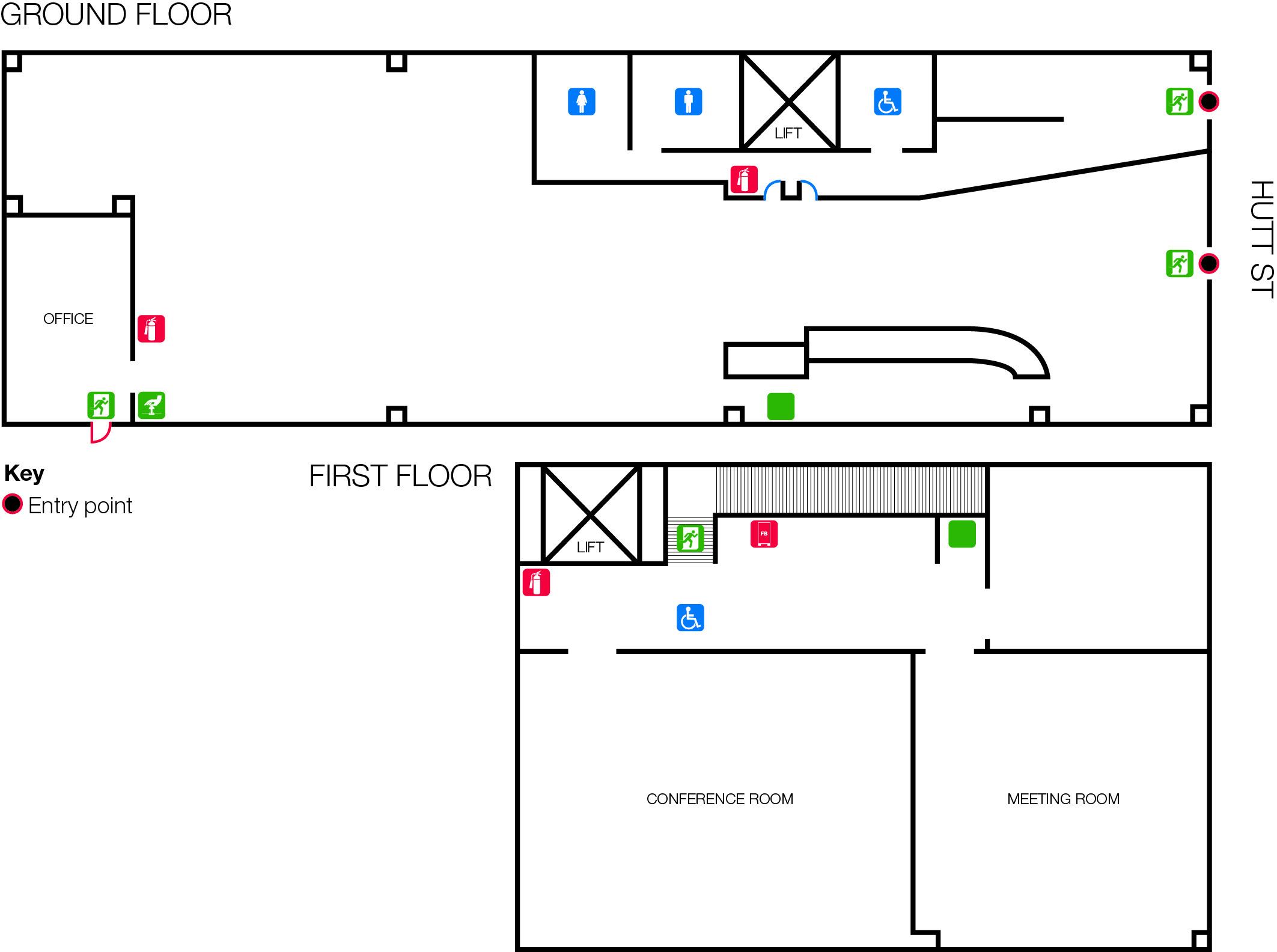 Hutt Street Library Floor Plan