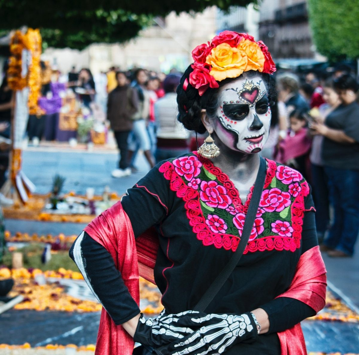 Spanish mexico day of the dead