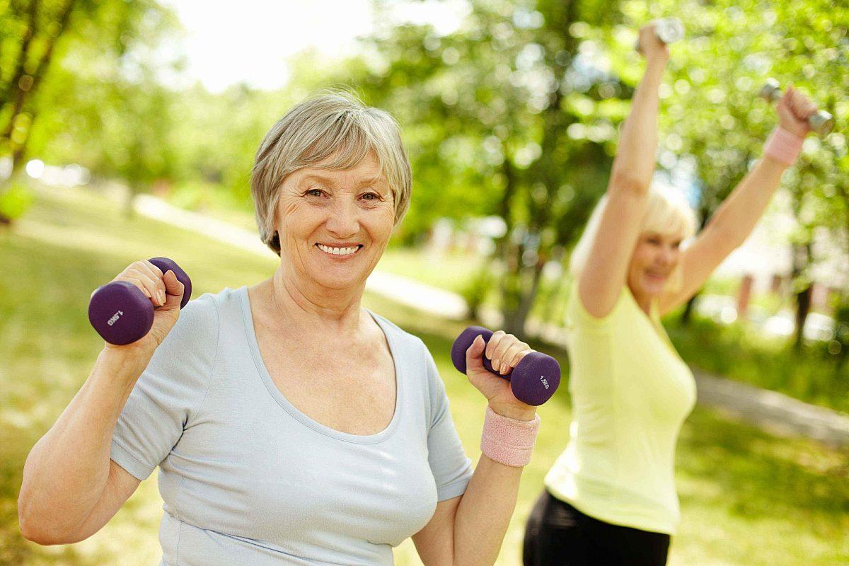 Workout parklands seniors