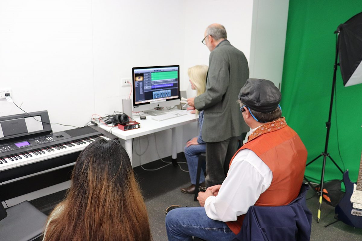 Library media lab john denlay 2020