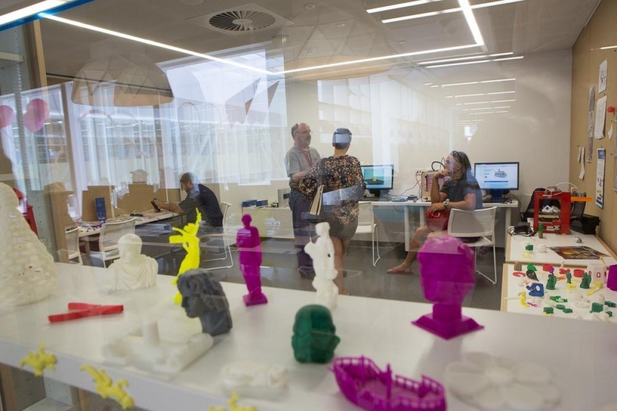 Library 3 D printing