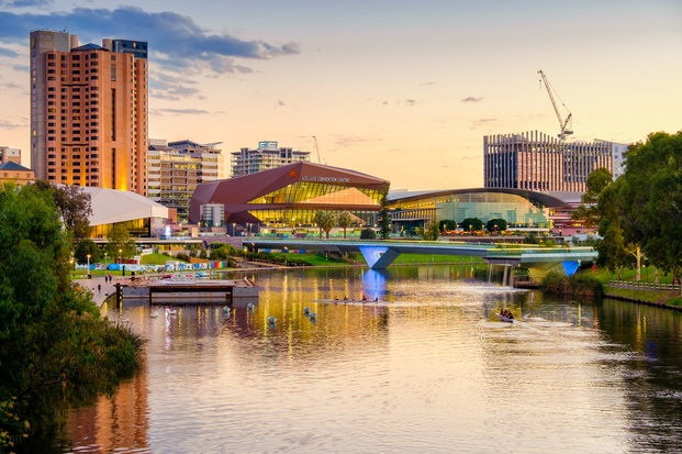 Adelaide riverbank precinct