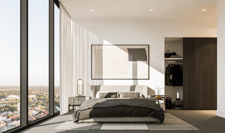 Adelaidean bedroom