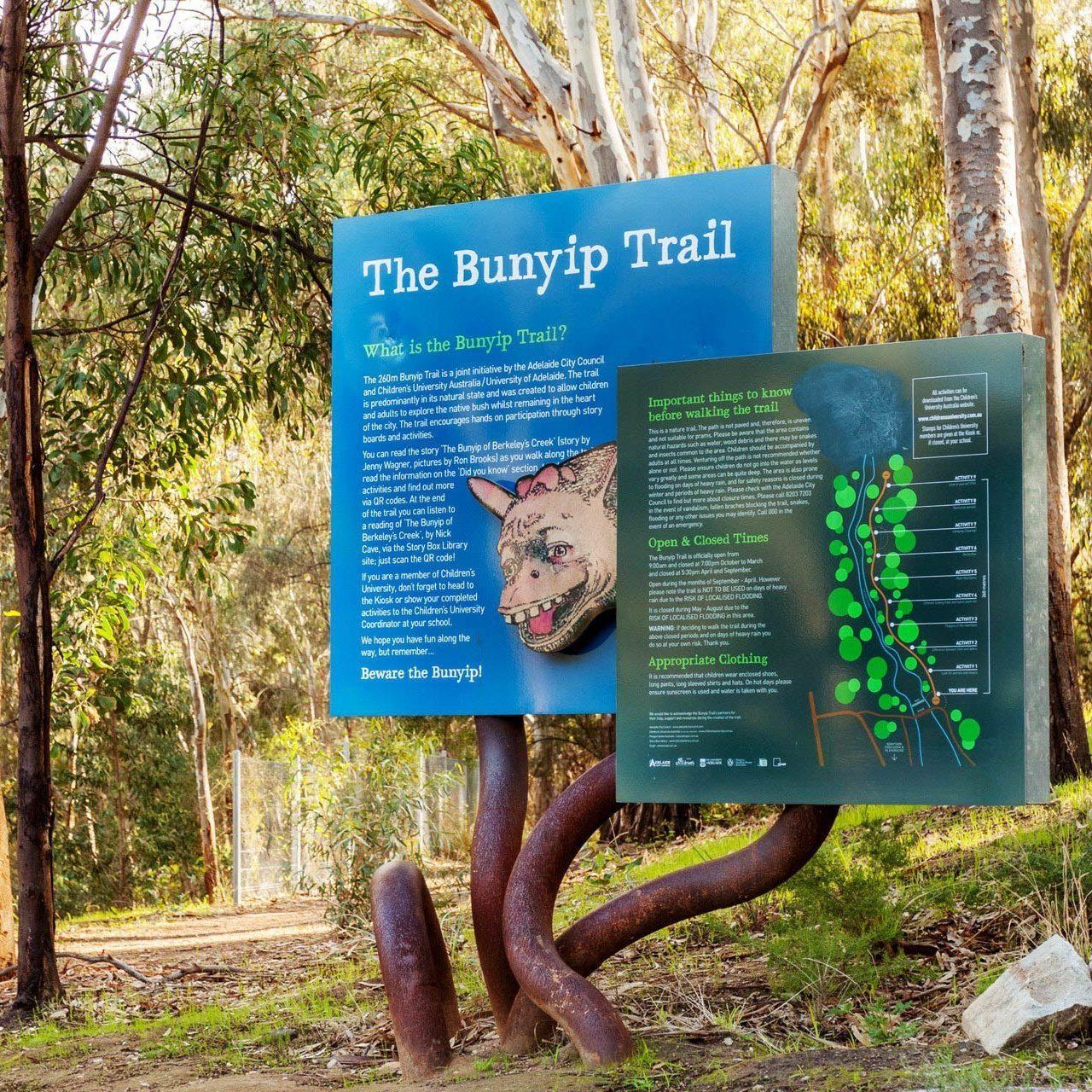 Bunyip trail biodiversity