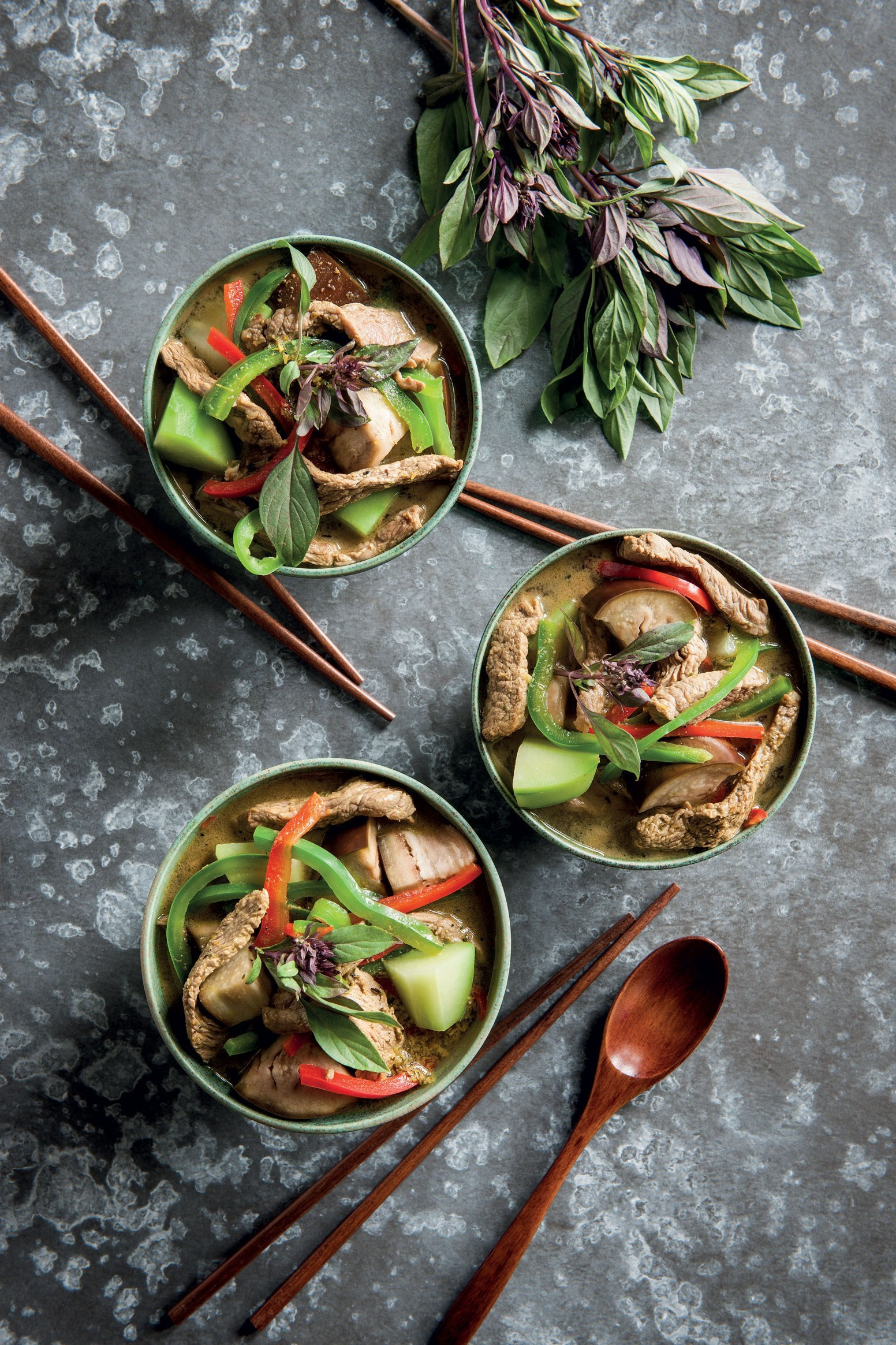 Cambodian sour beef soup