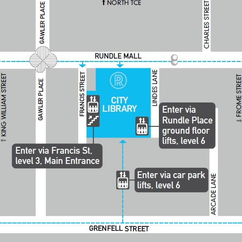City library map
