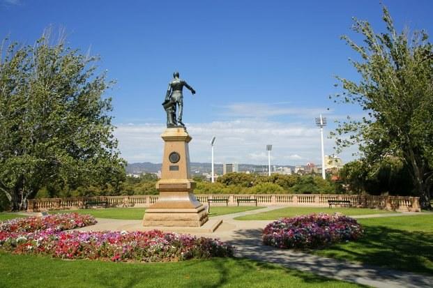 Colonel light statue