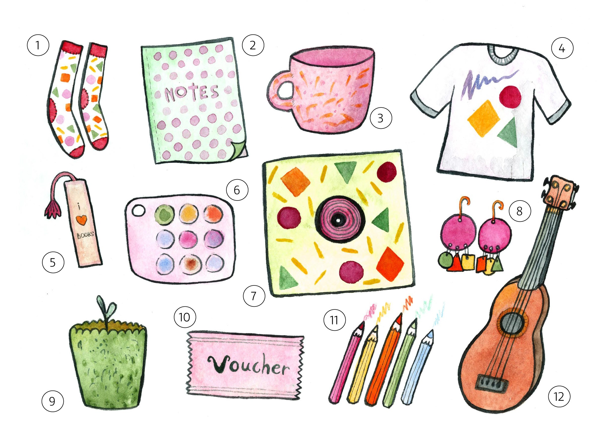 Creative gift guide