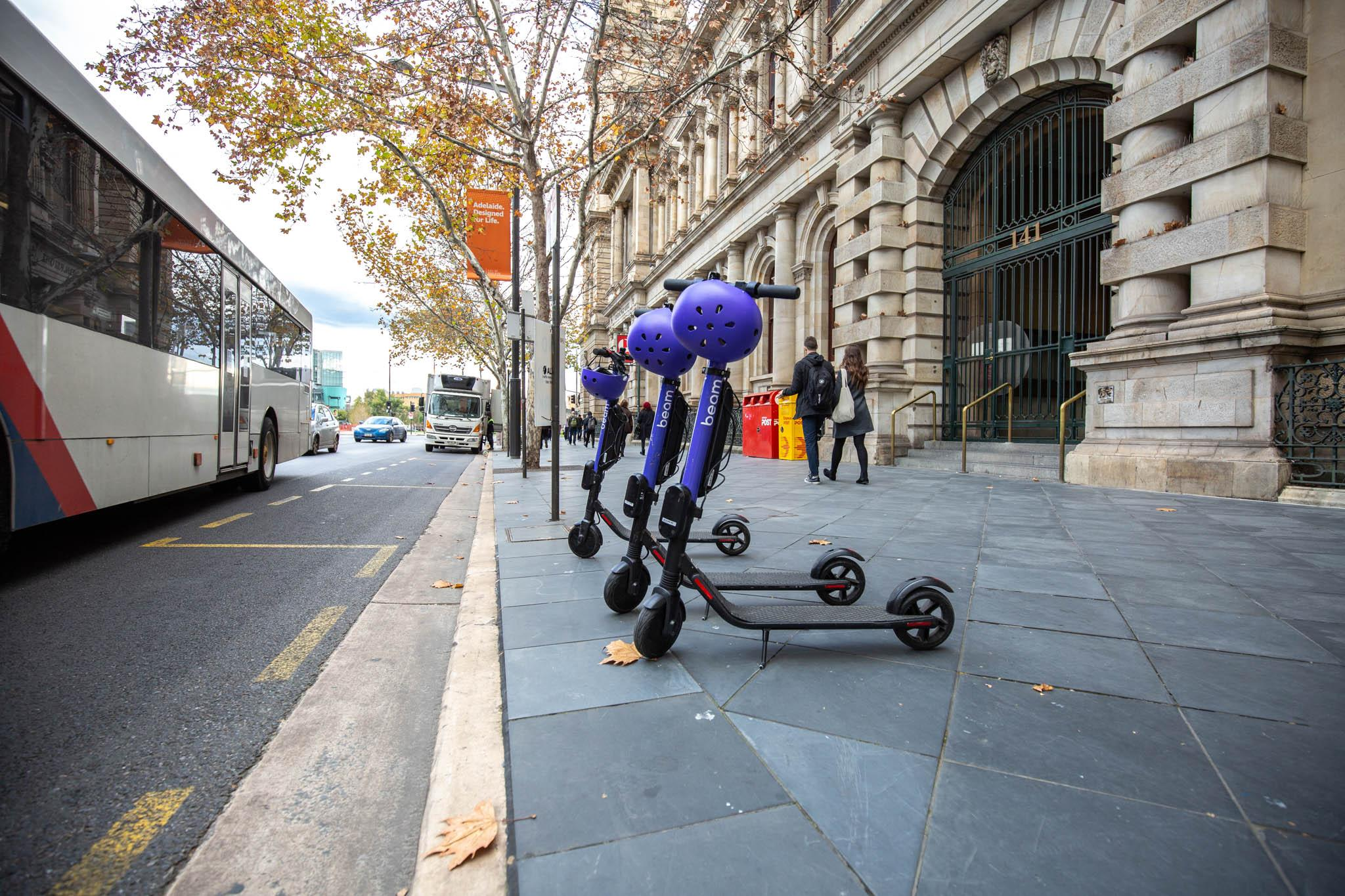 E-scooters | City of Adelaide