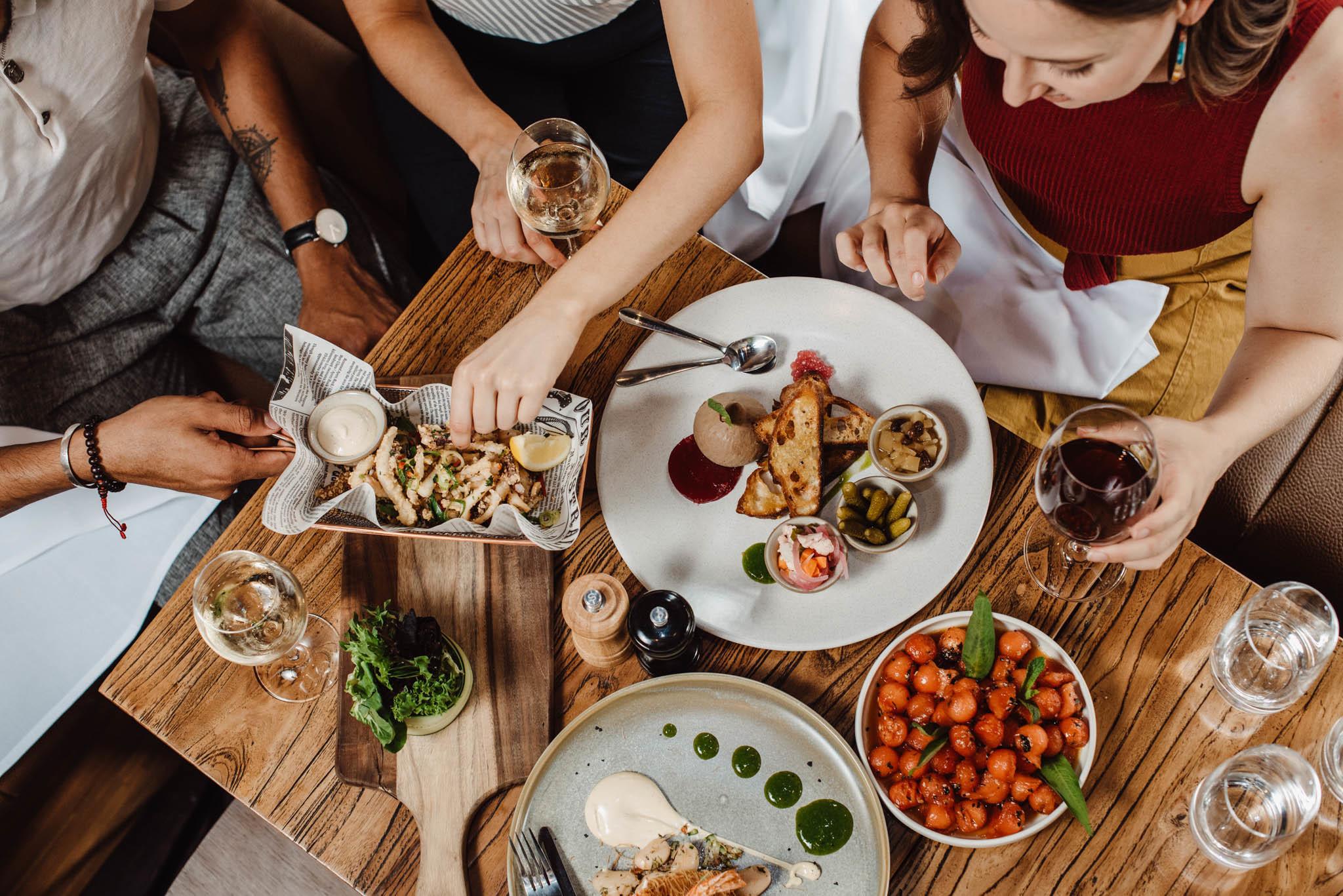 eating food group petrichor meal