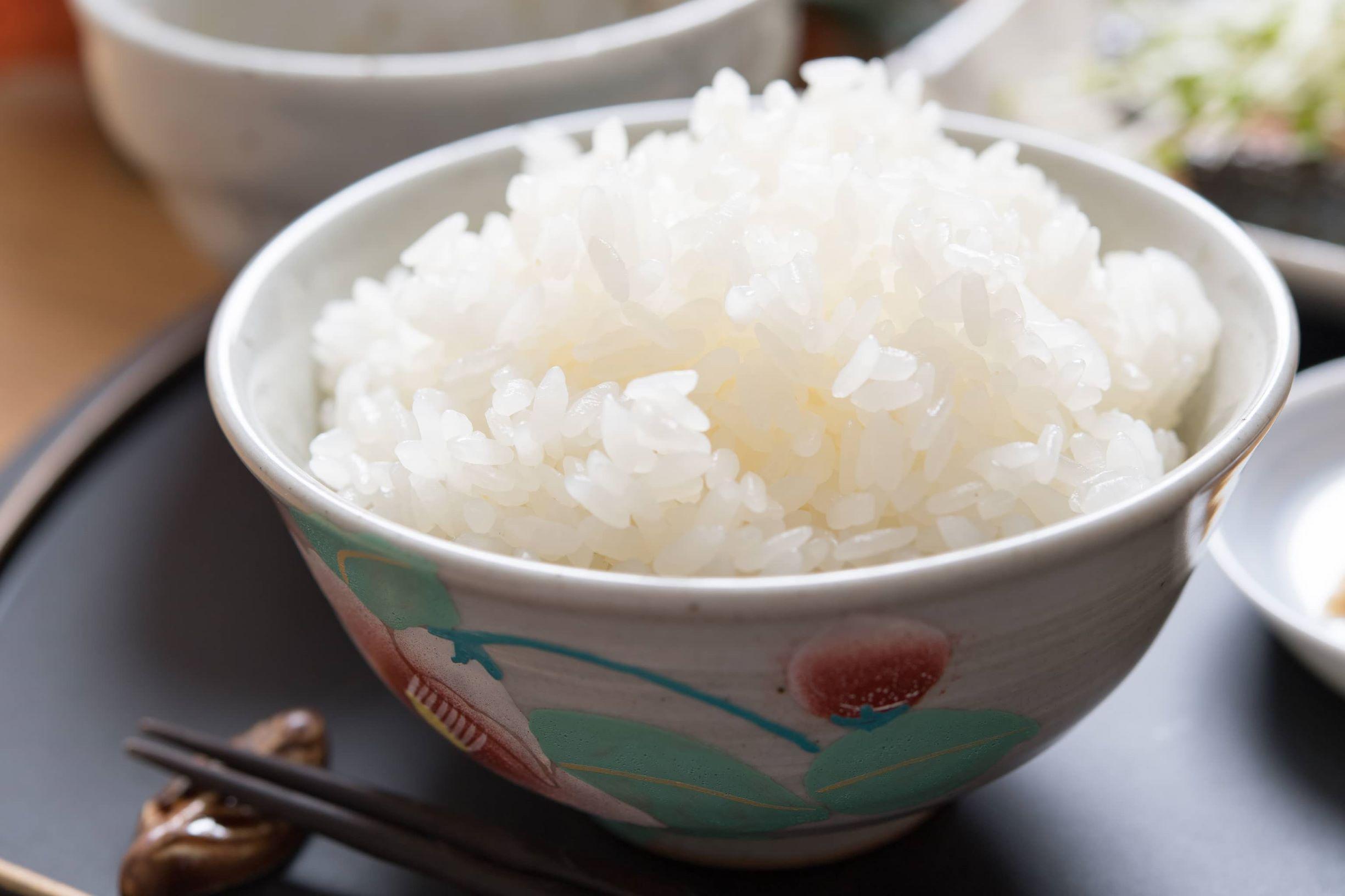 Fluffy rice bowl