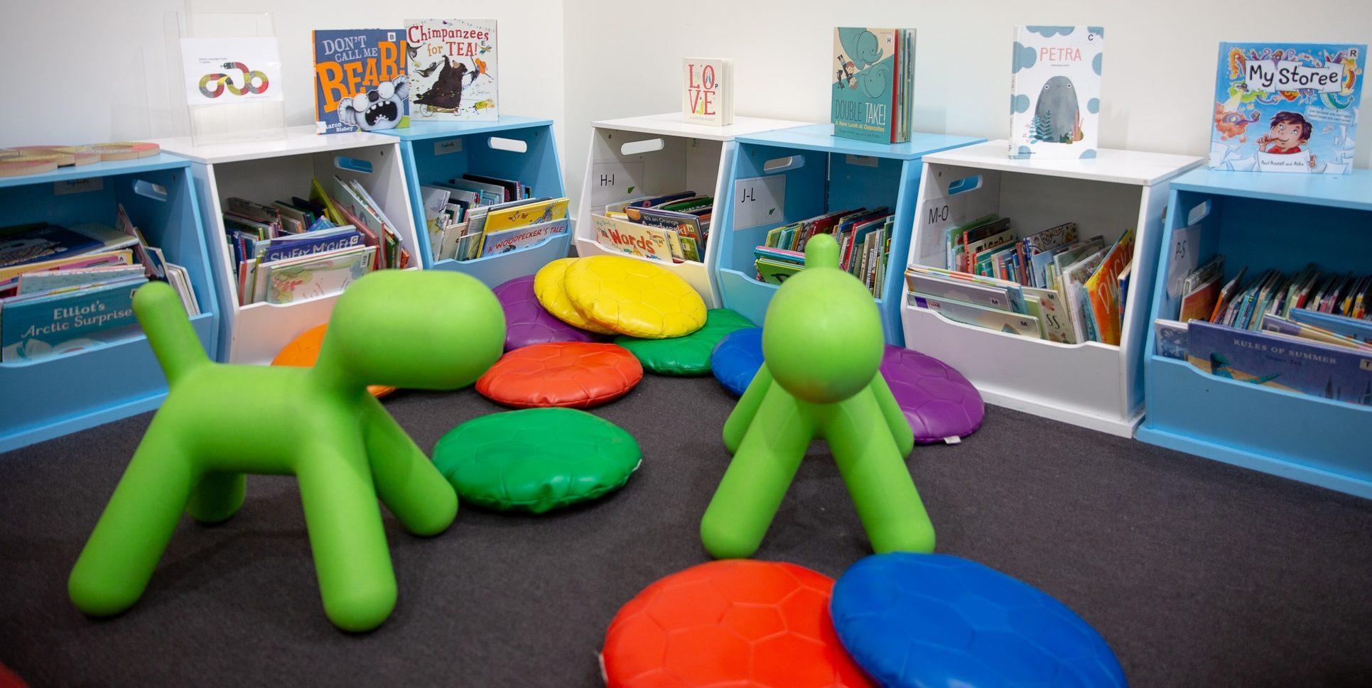 Hutt street library childrens section