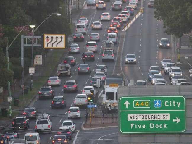 Journey to work in sydney
