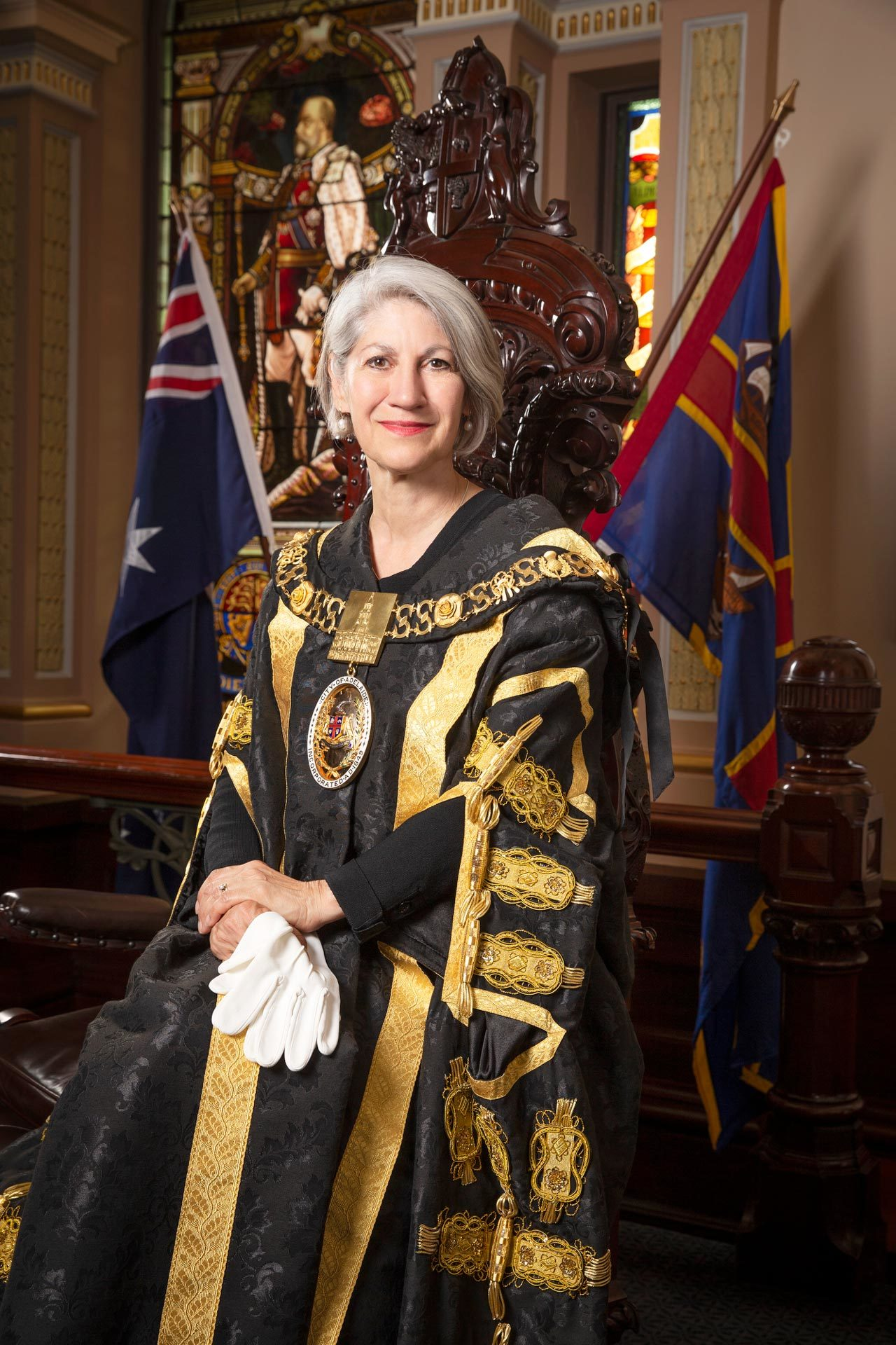 Lord Mayor Sandy Verschoor