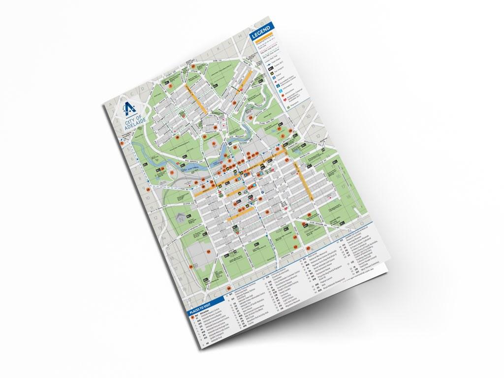 Map adfl adelaide