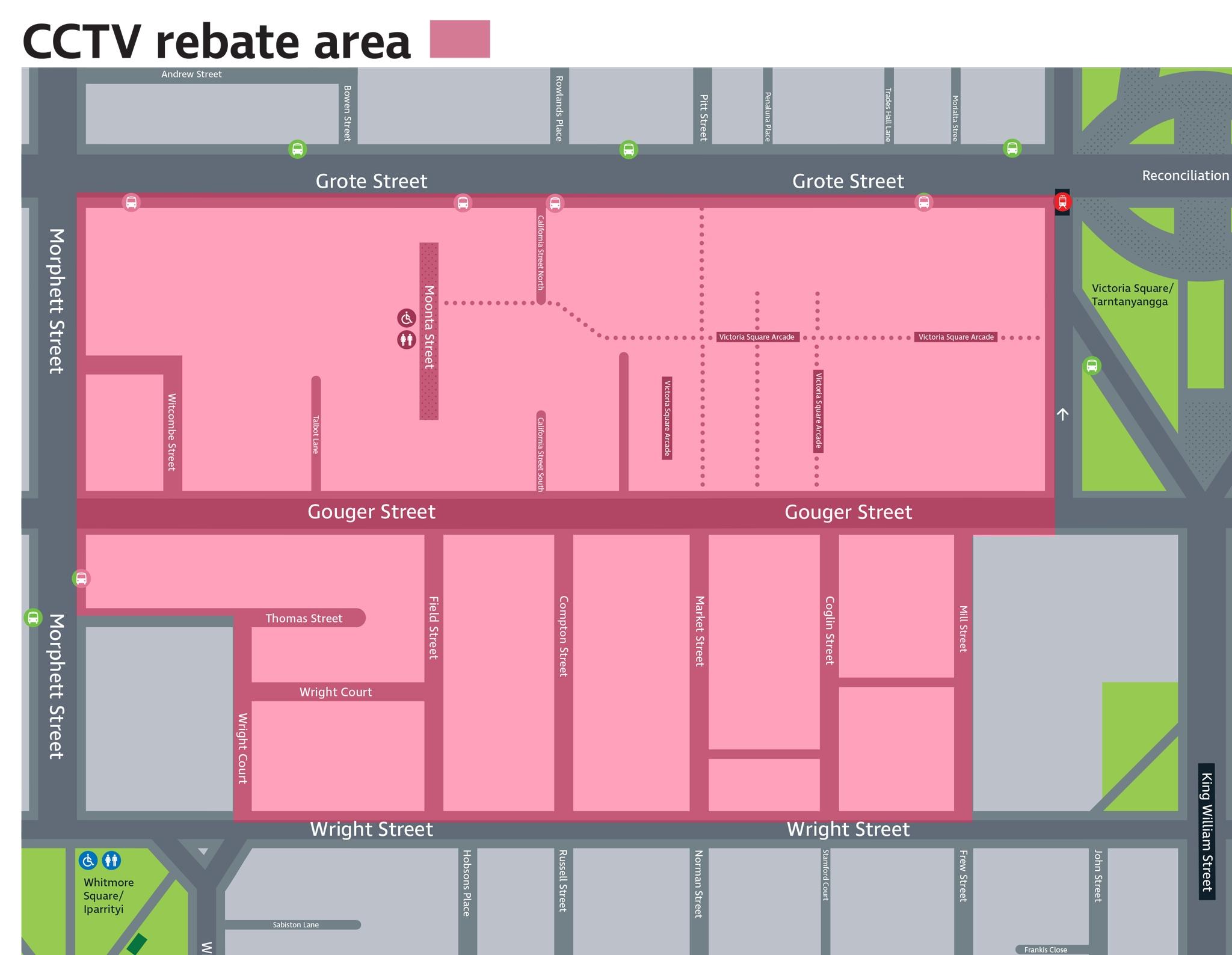 Map cctv rebate