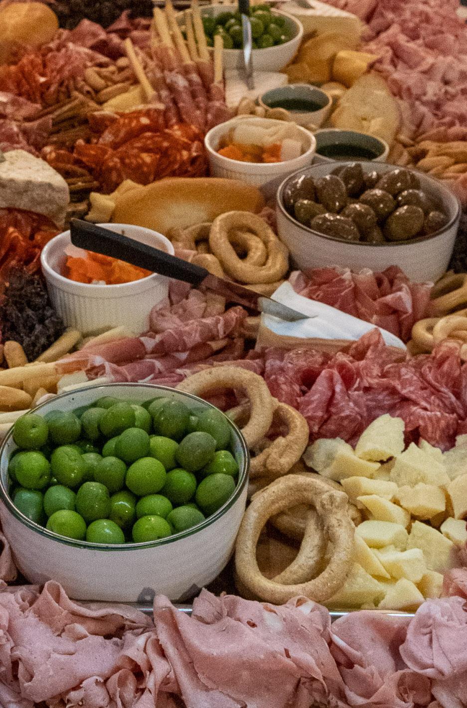 Marino meats grazing platter
