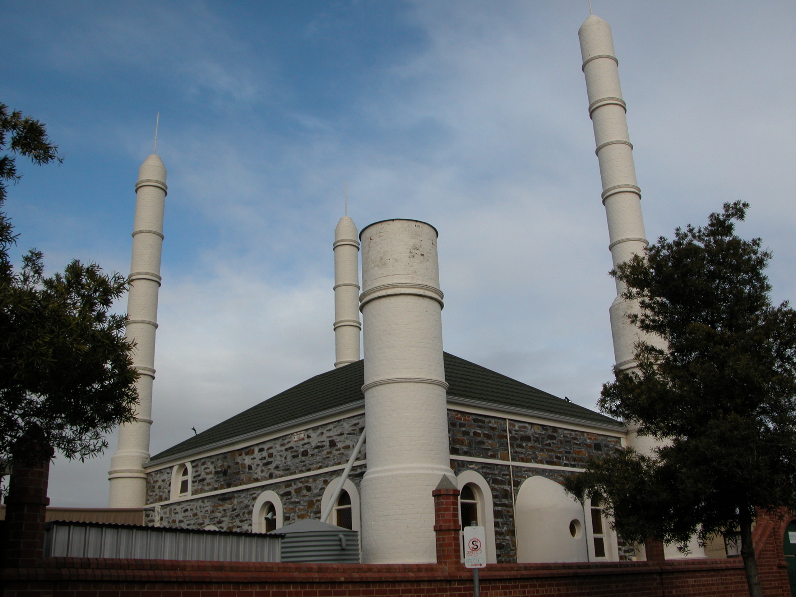 Mosque after