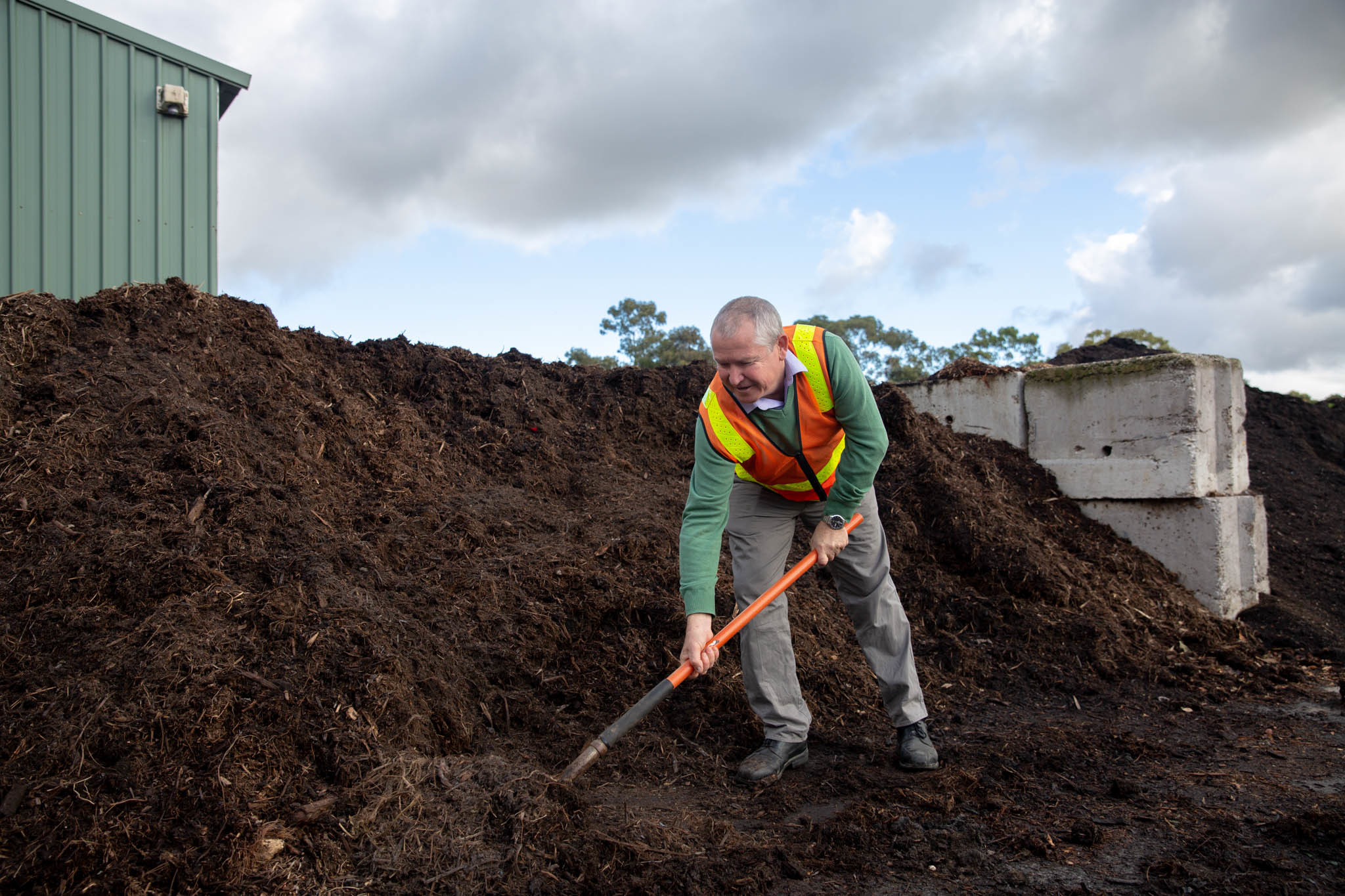 Green waste and mulch centre | City of Adelaide