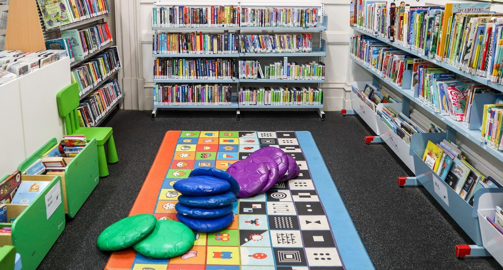 North adelaide library kids section