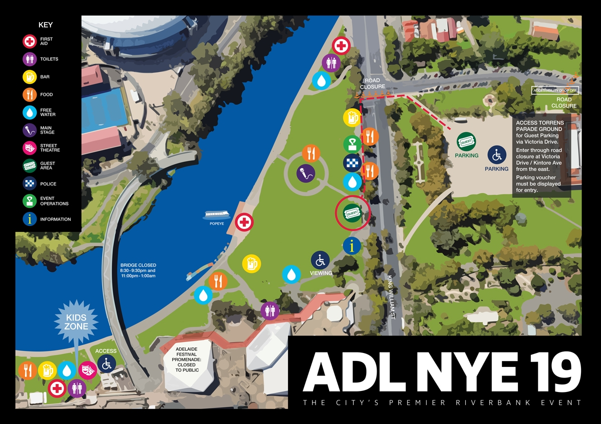 Nye19 vip guests site map