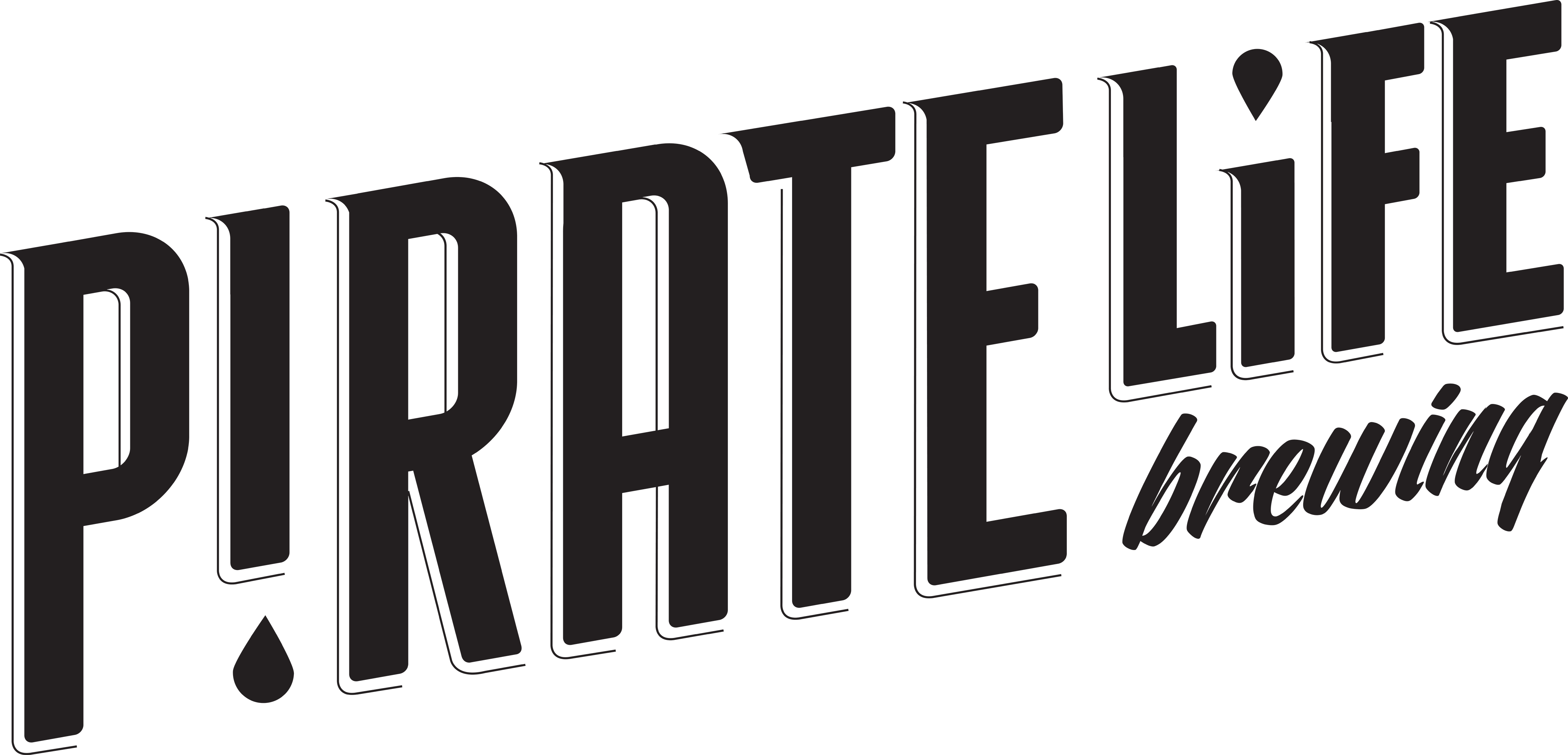 Pirate life logo simple