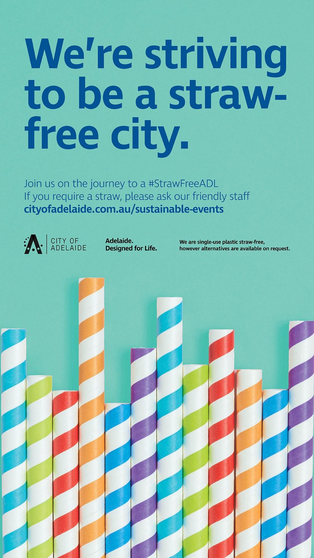 Poster straw free straws v3