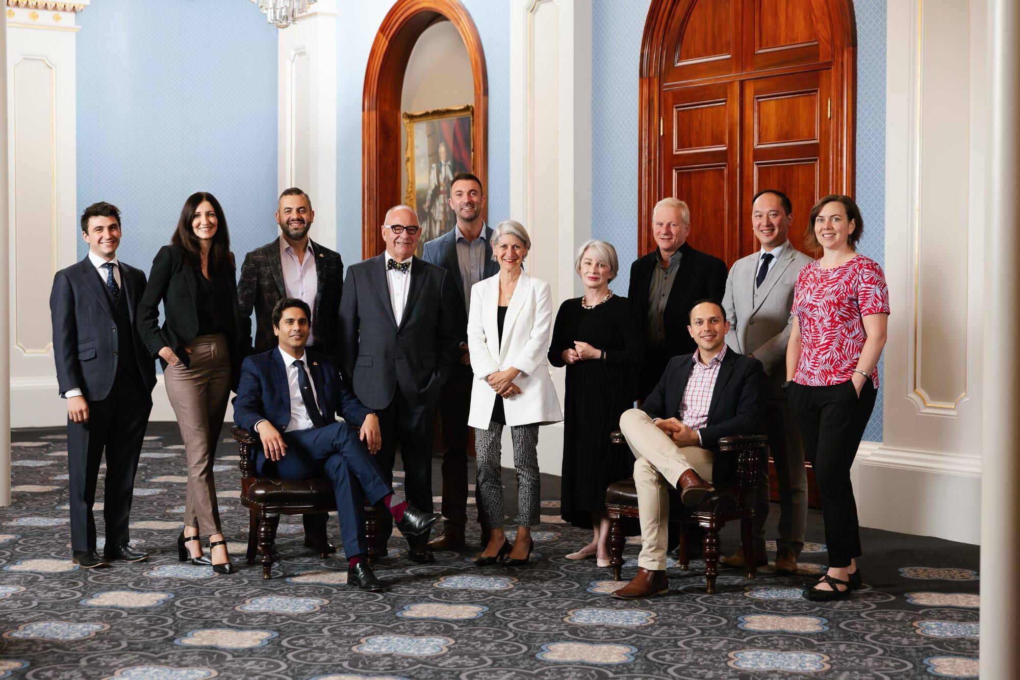 Smaller adelaide councillors