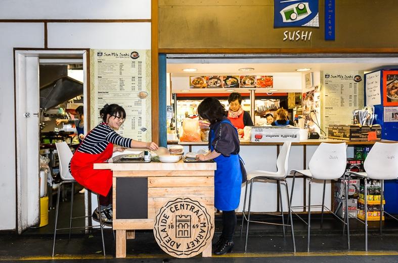 Sunmi sushi adelaide central market