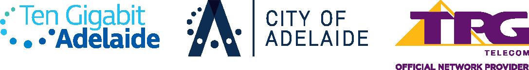 Ten gigabit adelaide city of adelaide tpg telecom logo lockup