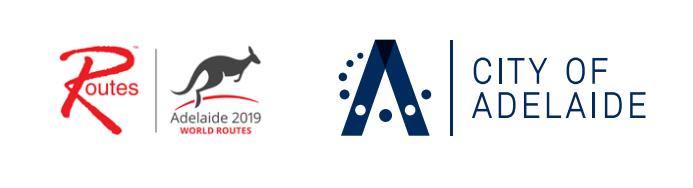 World routes logos